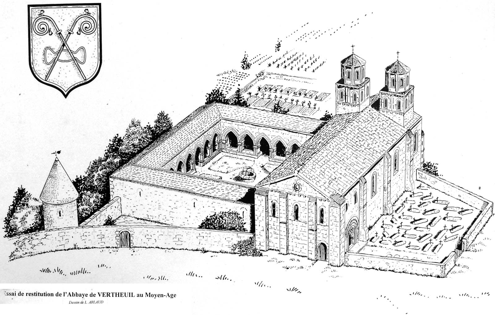 reconstitution abbaye